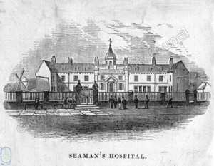 Scarborough: Seaman's Hospital 1850